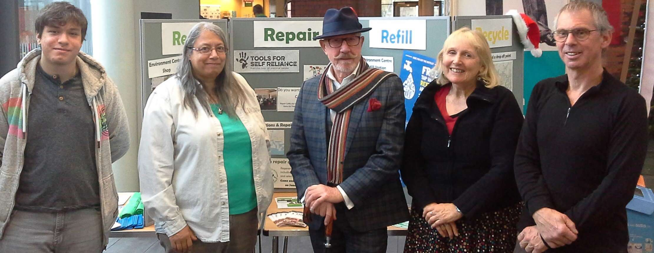 Swansea Volunteer Fixers At Green Fayre 23.12.19 Cropped