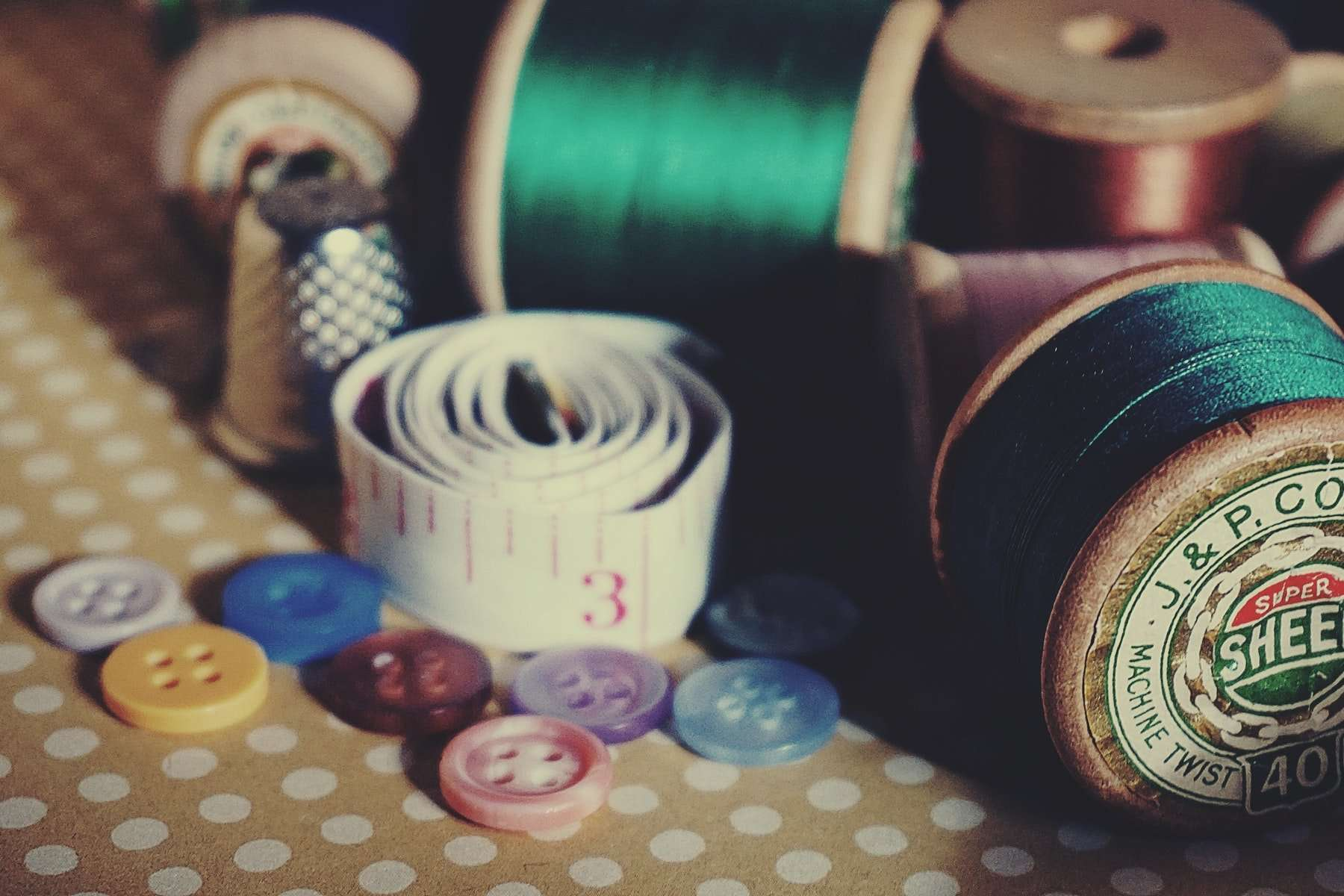 Sewing Kit Close Up Photography 1855203